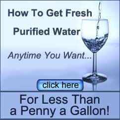 inexpensive purified water