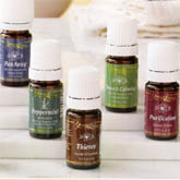 Natural essential oil blends and singles